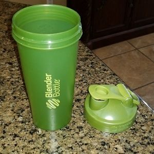 Olive Green Blender Bottle